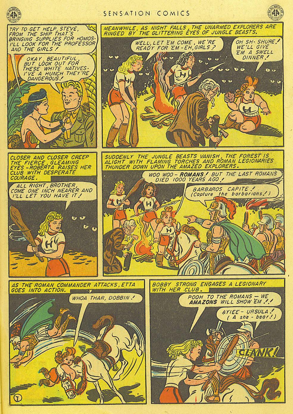 Read online Sensation (Mystery) Comics comic -  Issue #39 - 9