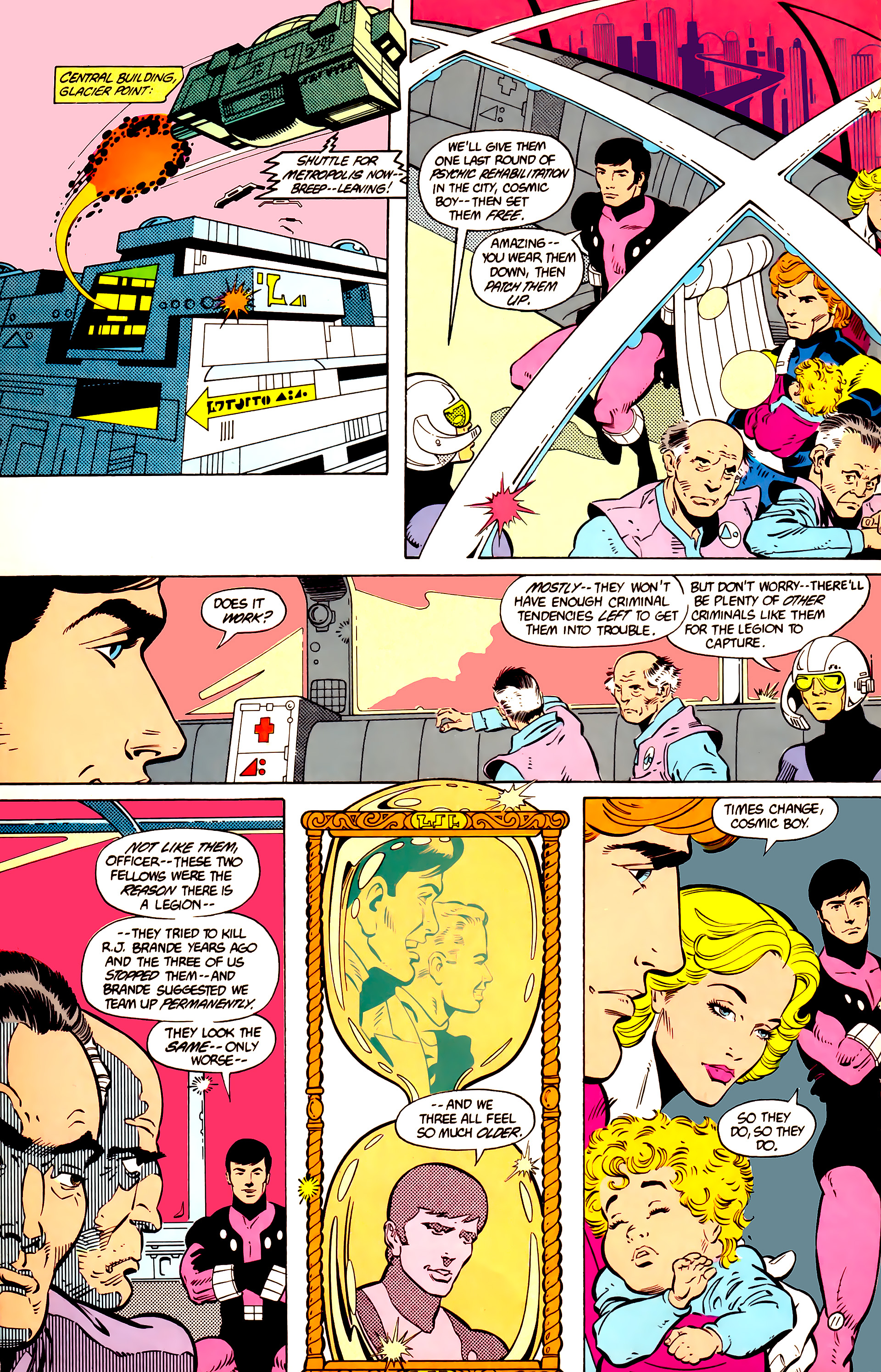 Legion of Super-Heroes (1984) 11 Page 12