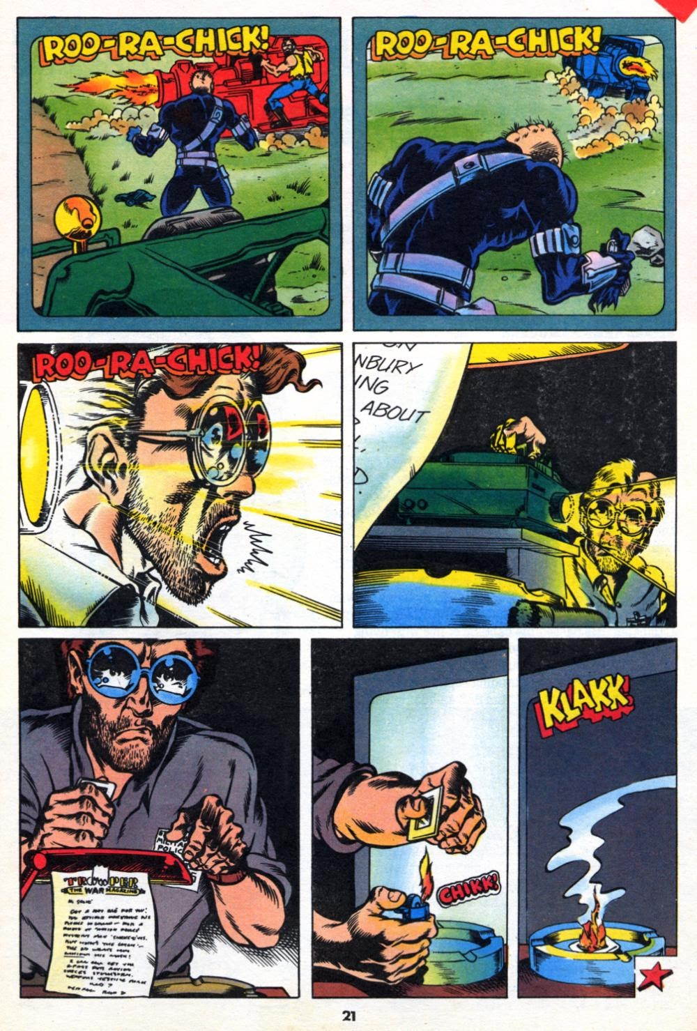 G.I. Joe European Missions issue 10 - Page 21