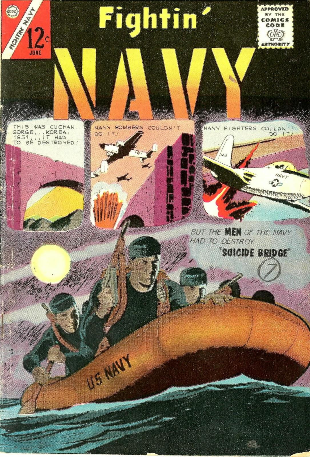 Read online Fightin' Navy comic -  Issue #110 - 1