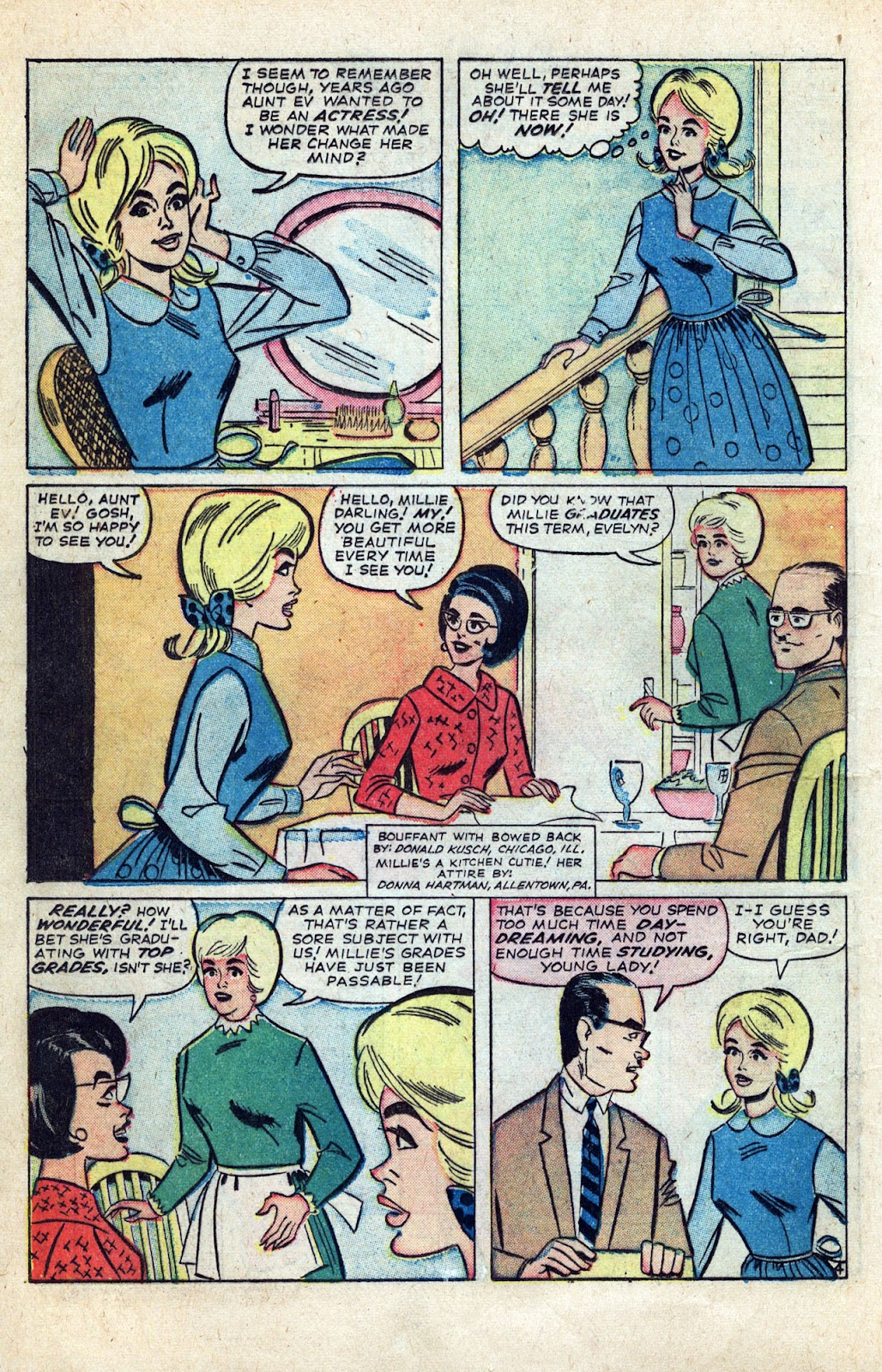 Millie the Model issue Annual 3 - Page 6