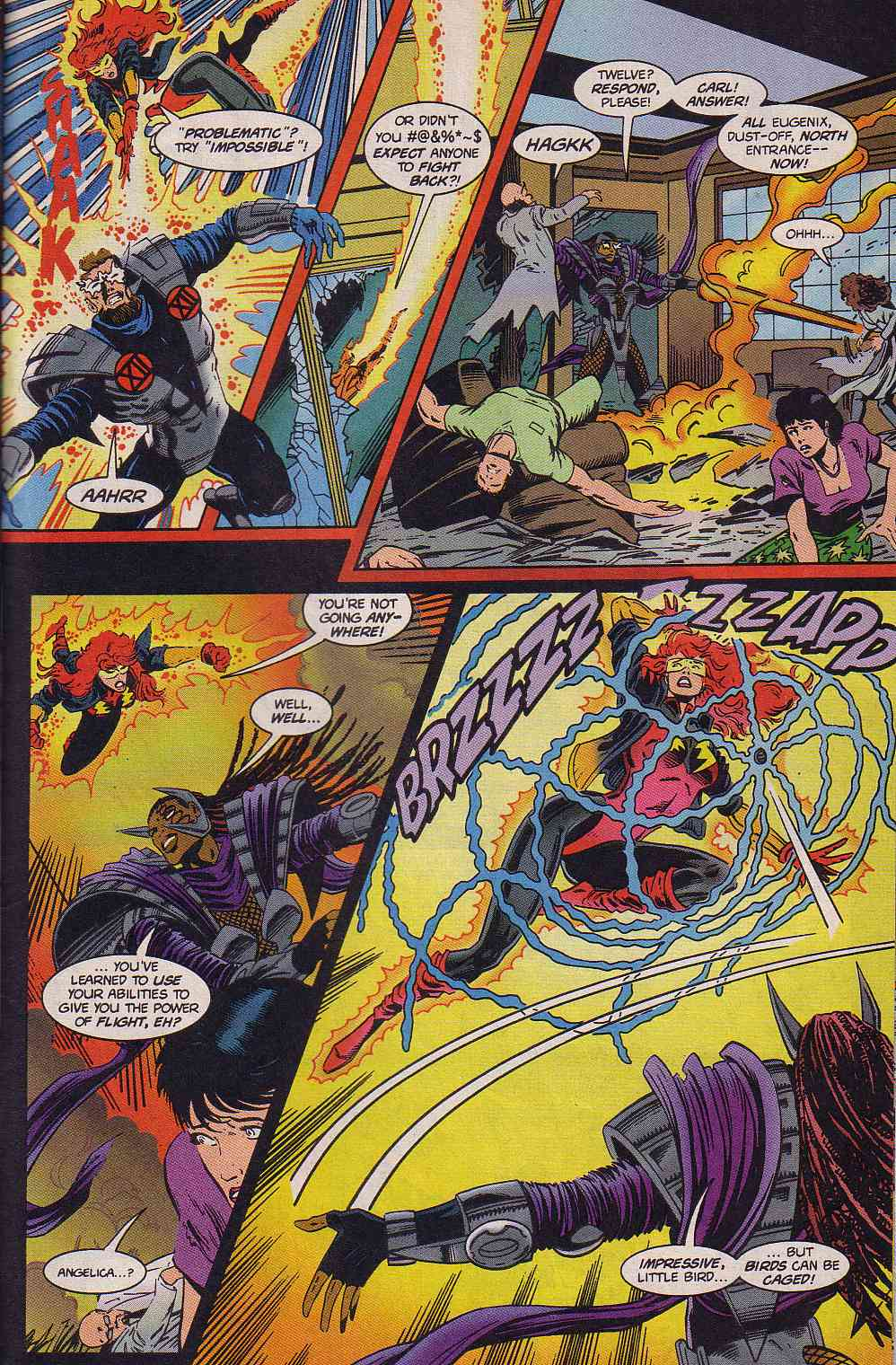 The New Warriors Issue #63 #67 - English 20