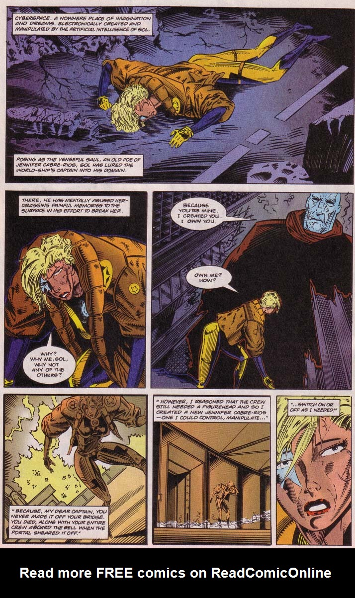 Read online Cyberspace 3000 comic -  Issue #5 - 6