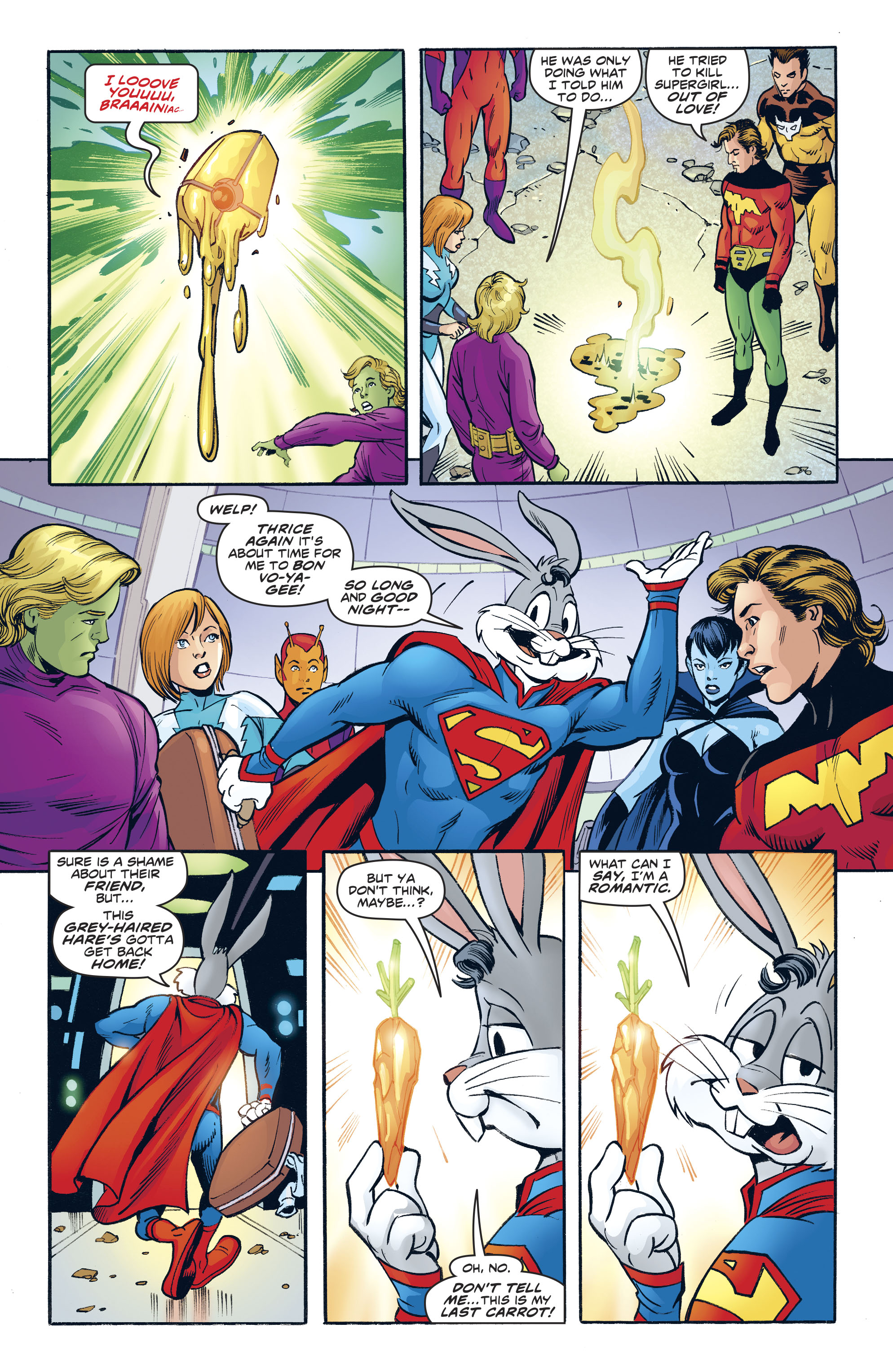 Read online Legion of Super-Heroes/Bugs Bunny Special comic -  Issue # Full - 31