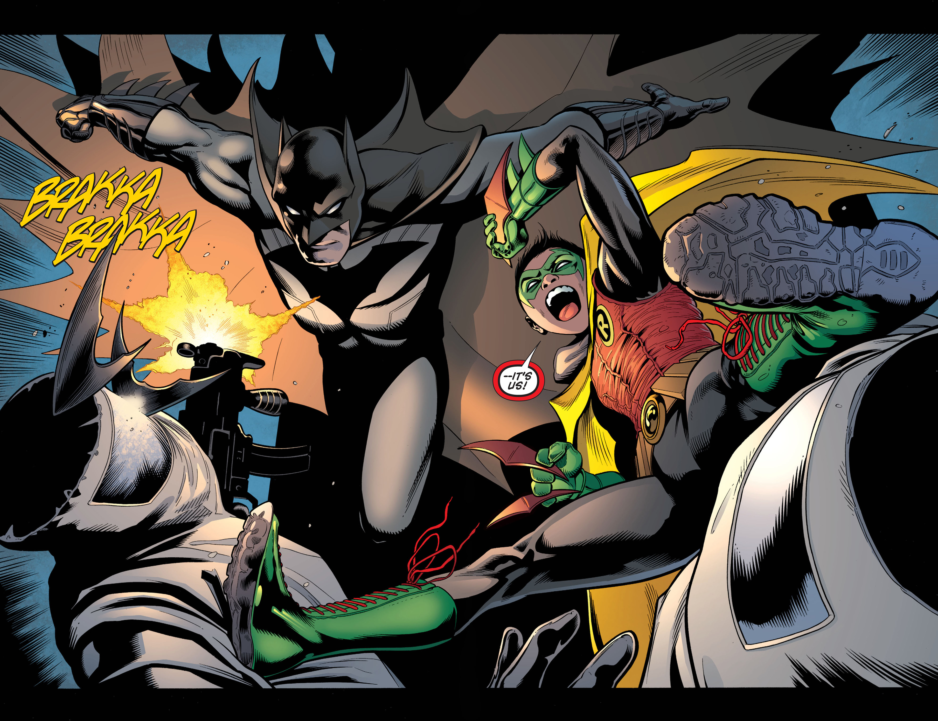 Read online Batman and Robin (2011) comic -  Issue #1 - 14