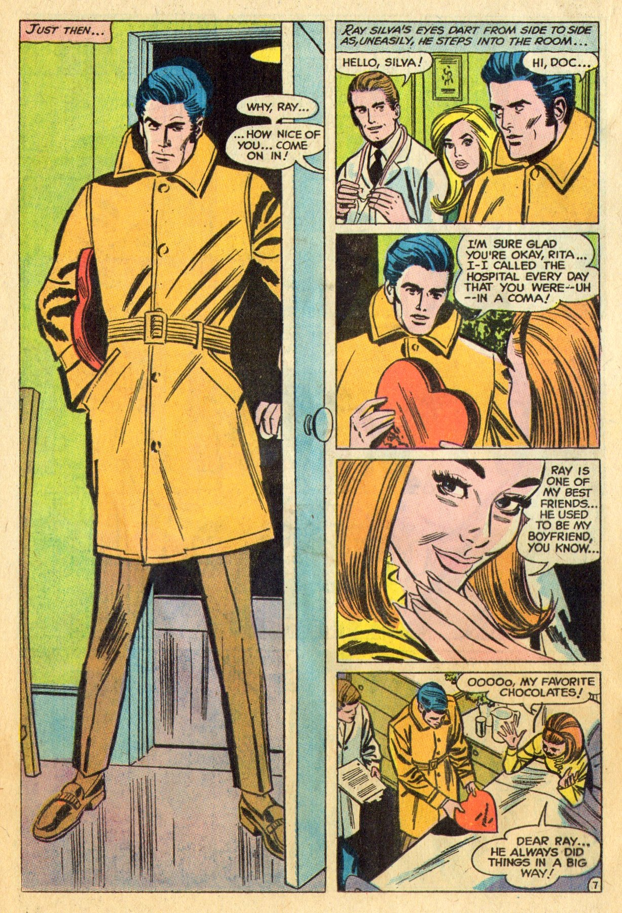Read online Secret Hearts comic -  Issue #136 - 24