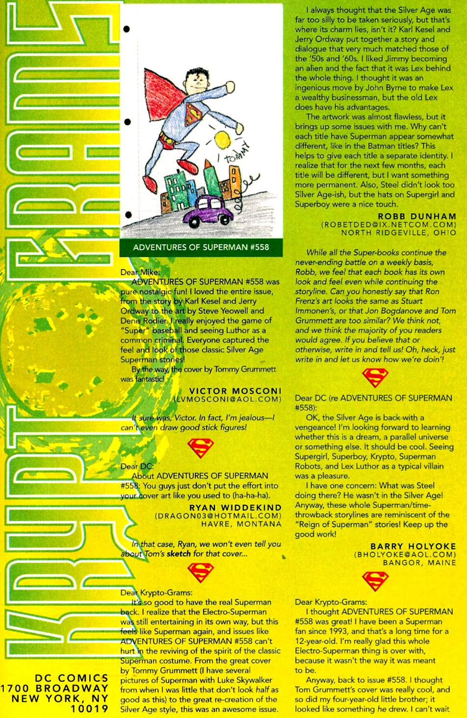 Read online Adventures of Superman (1987) comic -  Issue #563 - 23