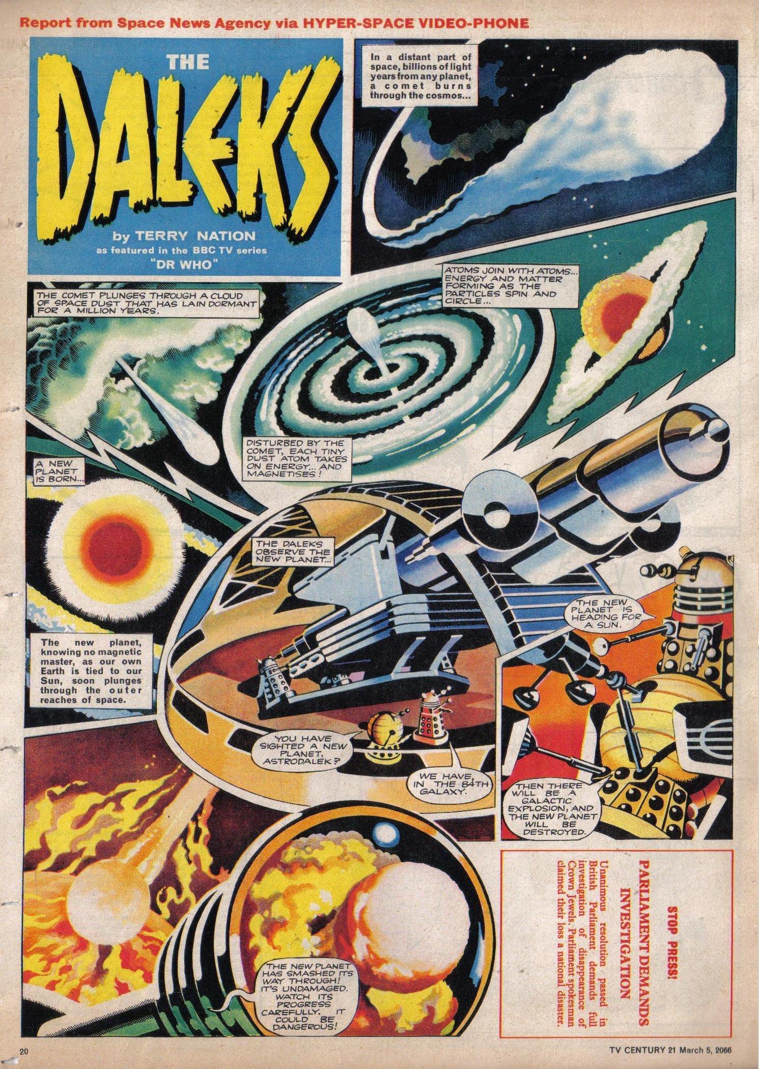 Read online TV Century 21 (TV 21) comic -  Issue #59 - 19