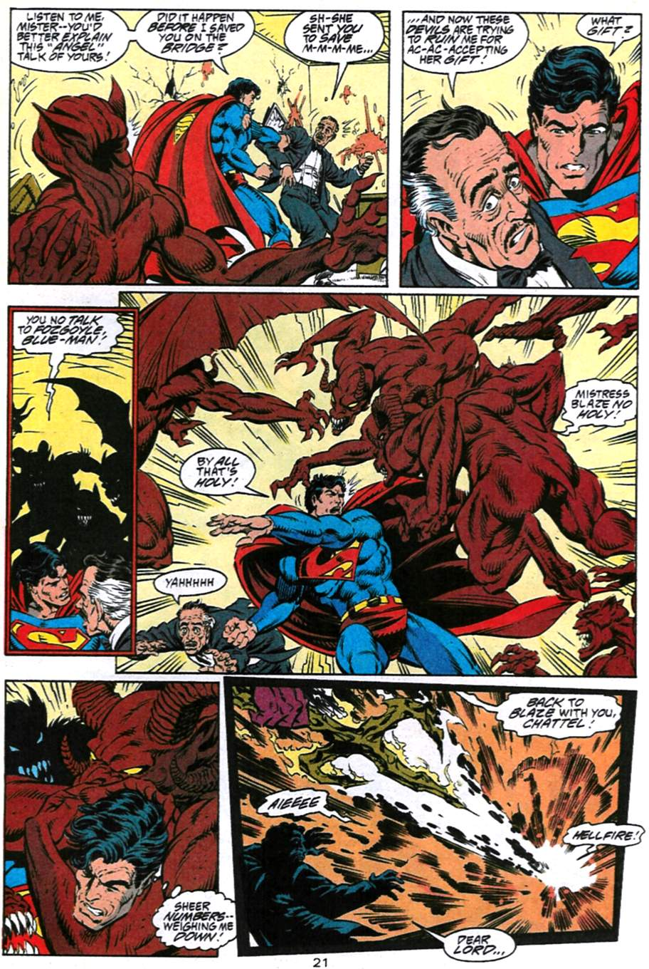 Read online Adventures of Superman (1987) comic -  Issue #493 - 22