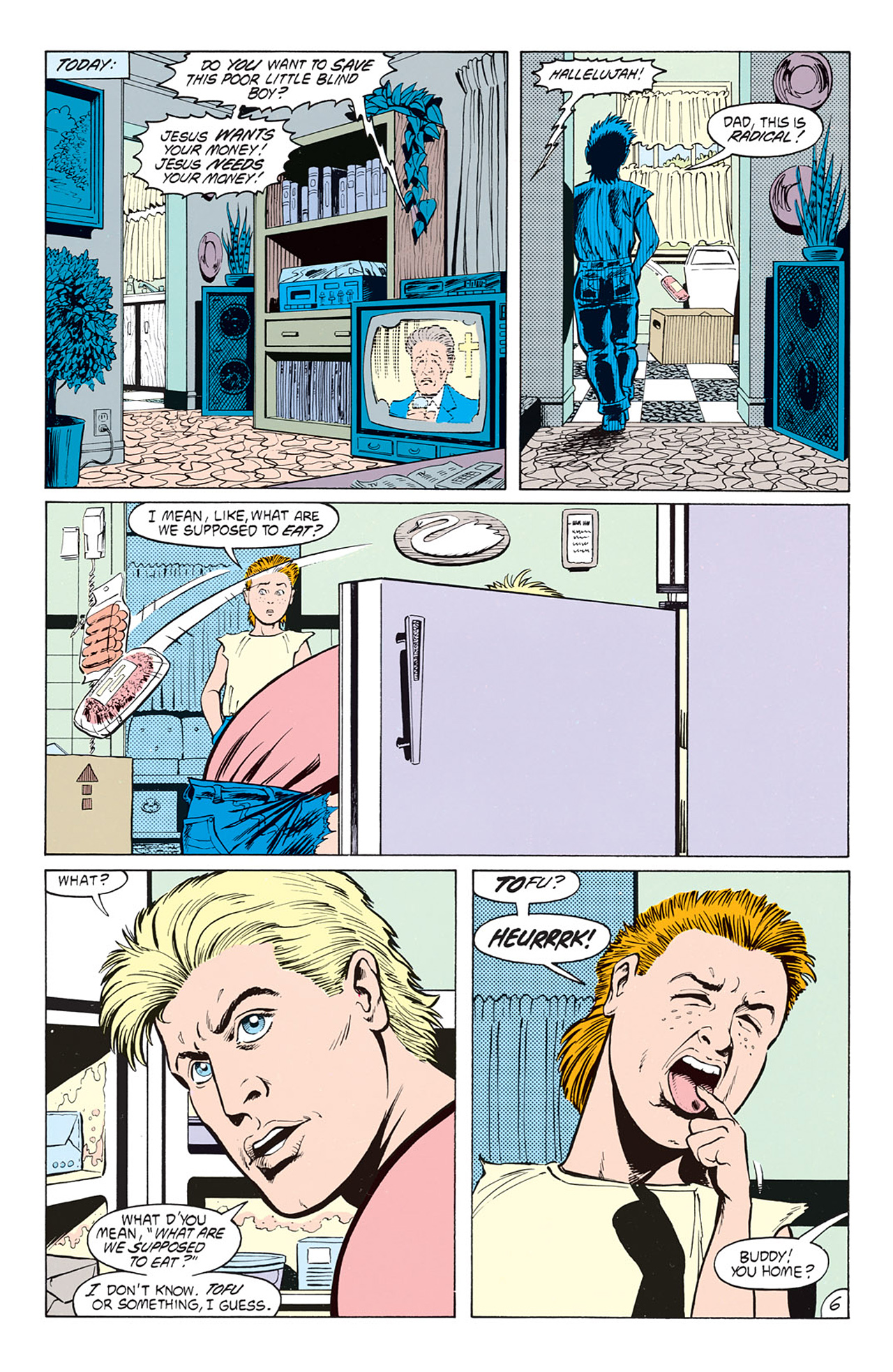 Read online Animal Man (1988) comic -  Issue #5 - 8