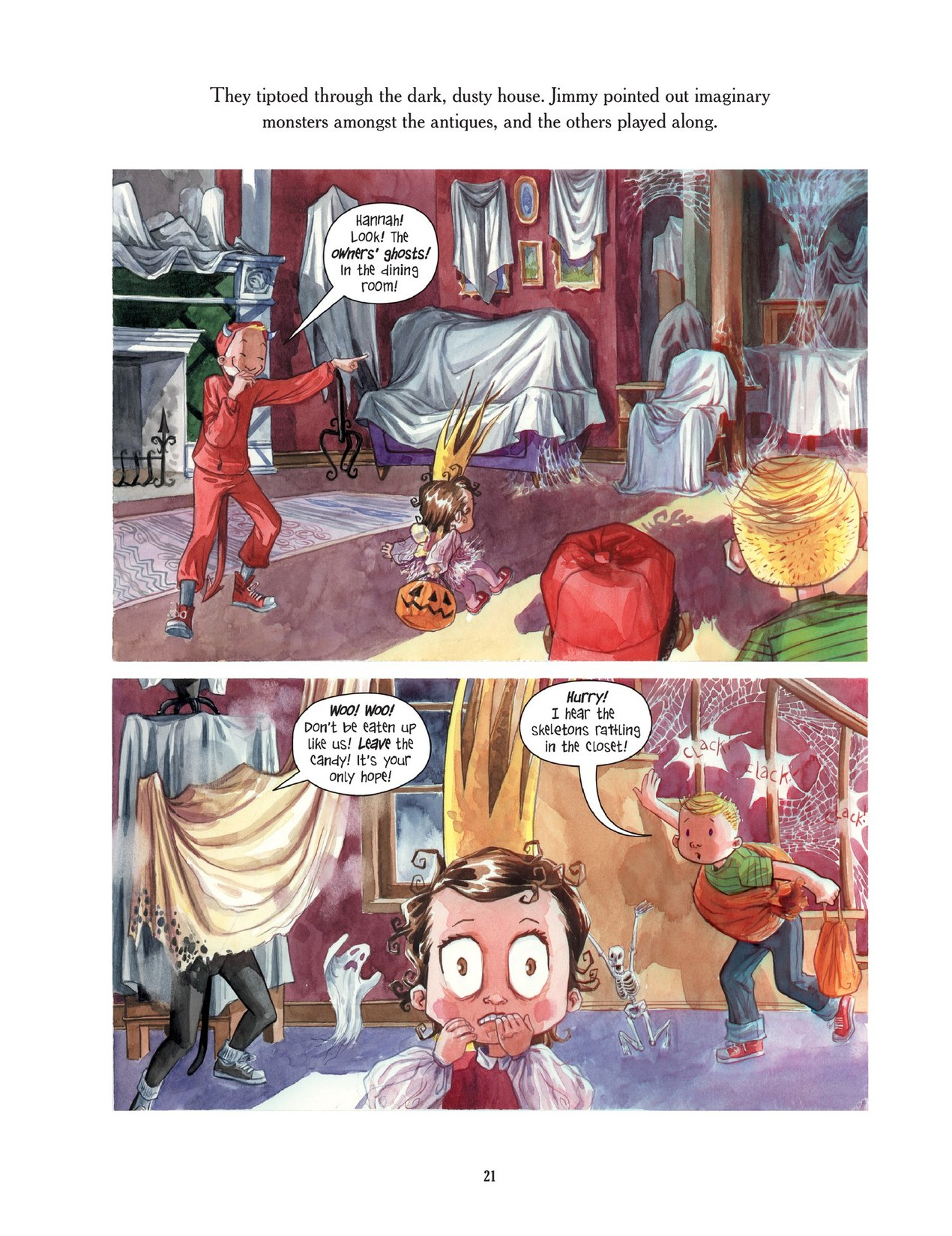 Read online Scary Godmother comic -  Issue # TPB - 21