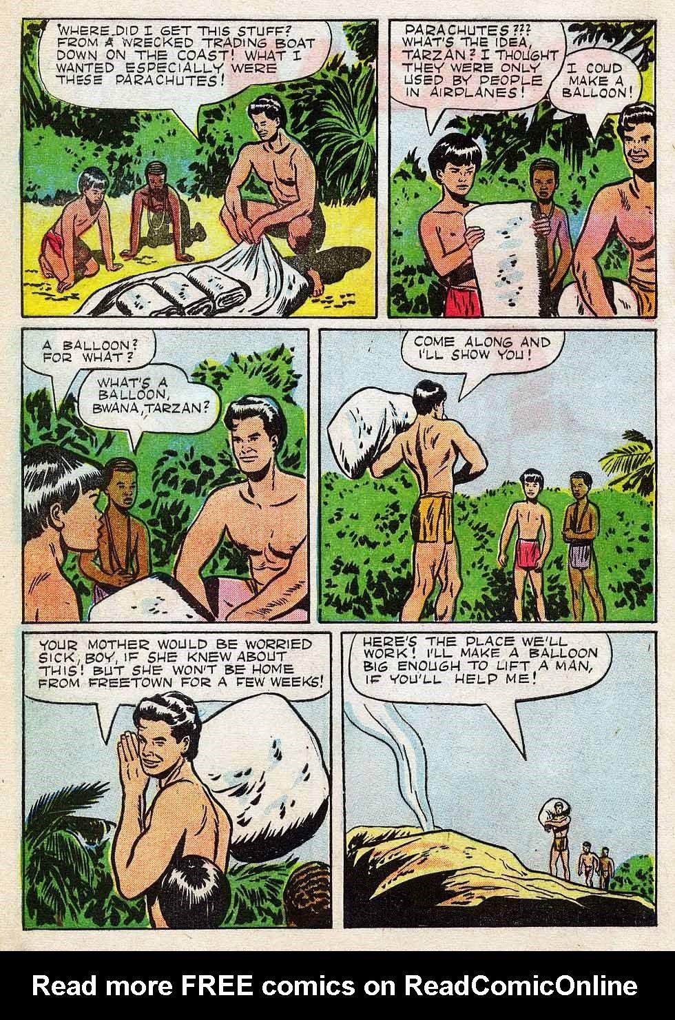 Tarzan (1948) issue 7 - Page 4