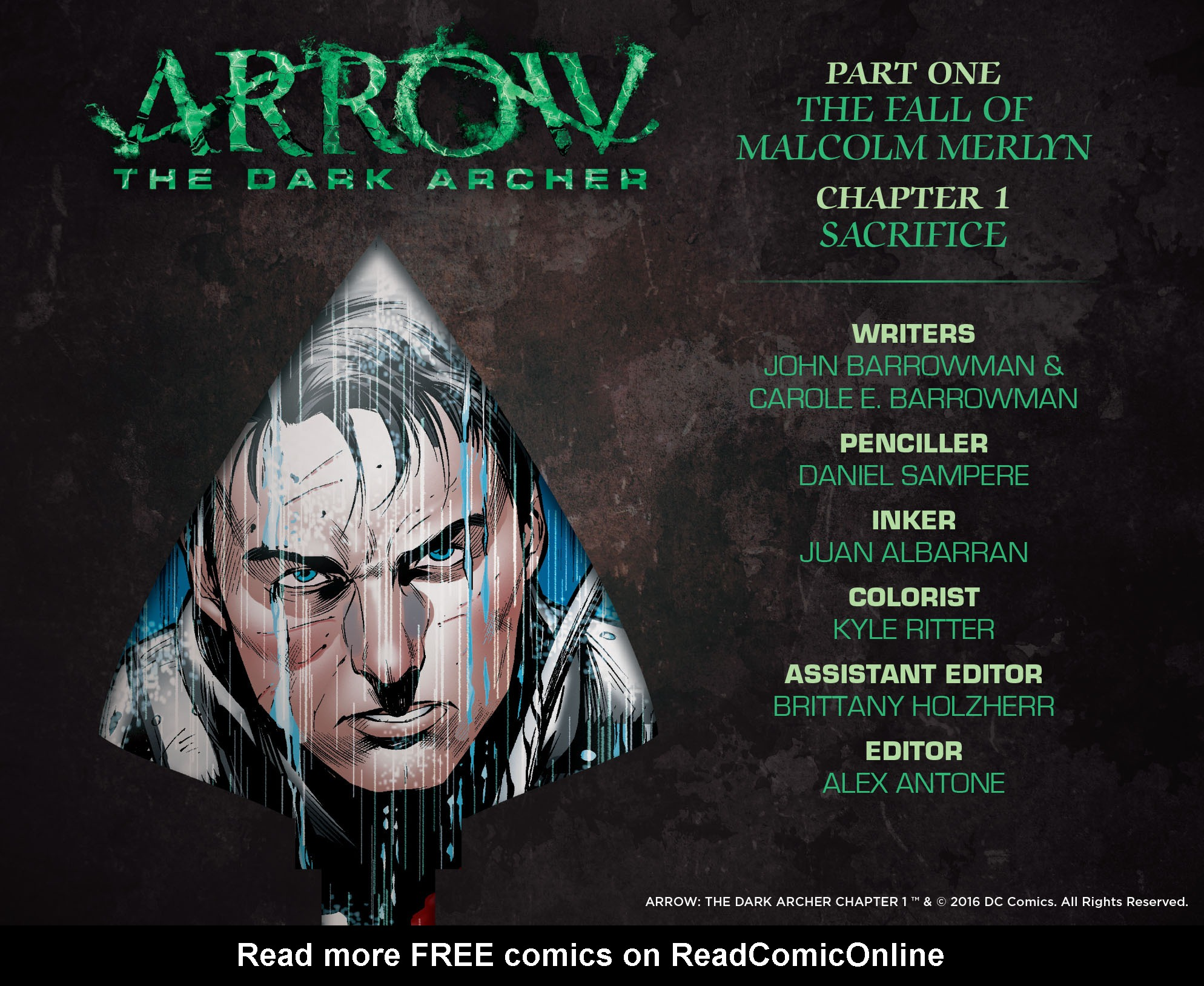Read online Arrow: The Dark Archer comic -  Issue #1 - 3