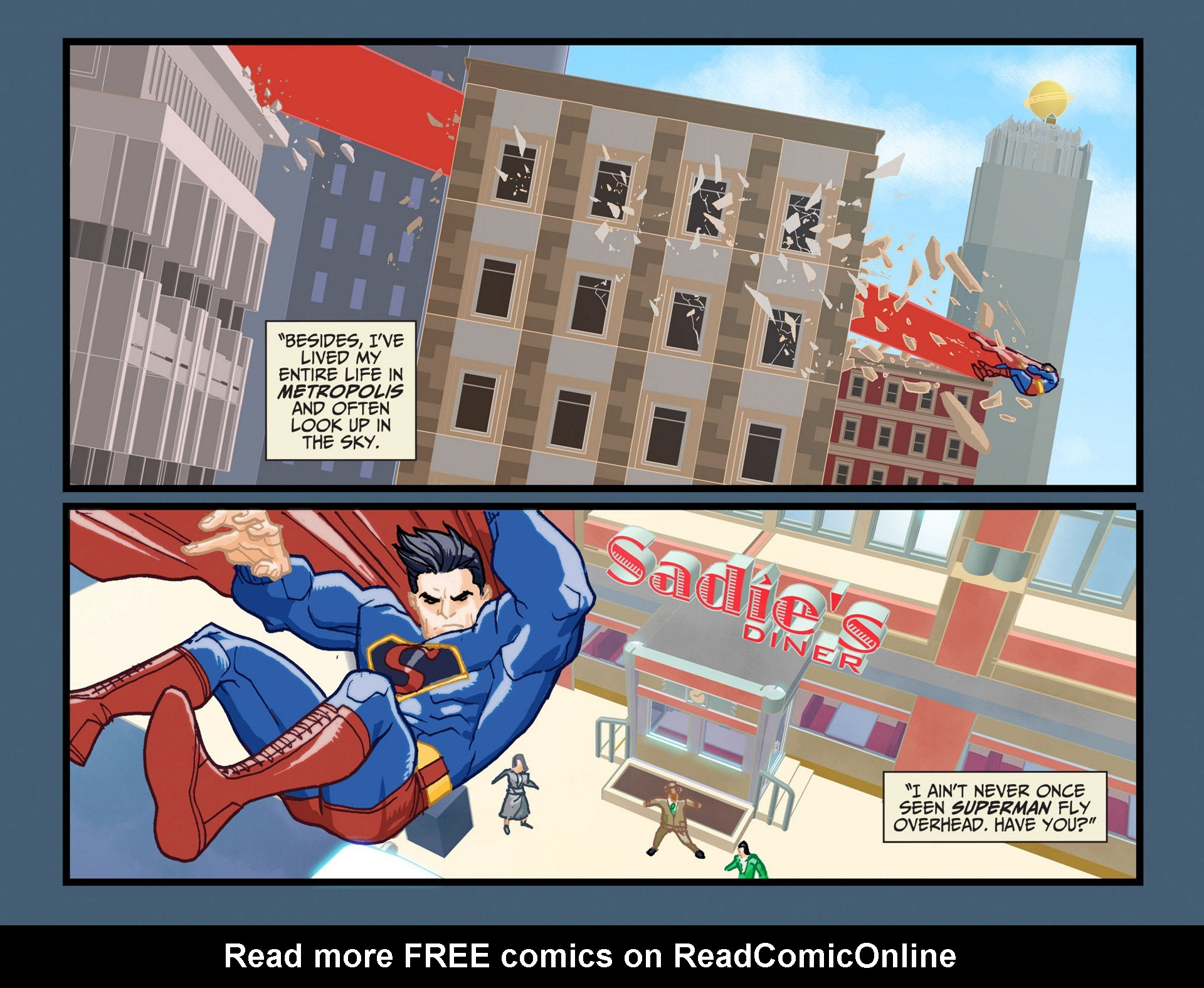Read online Adventures of Superman [I] comic -  Issue #11 - 18