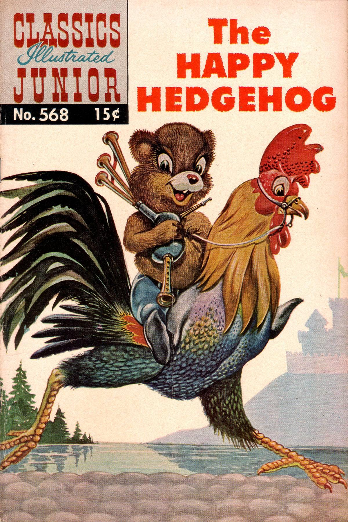 Classics Illustrated Junior 568 Page 1