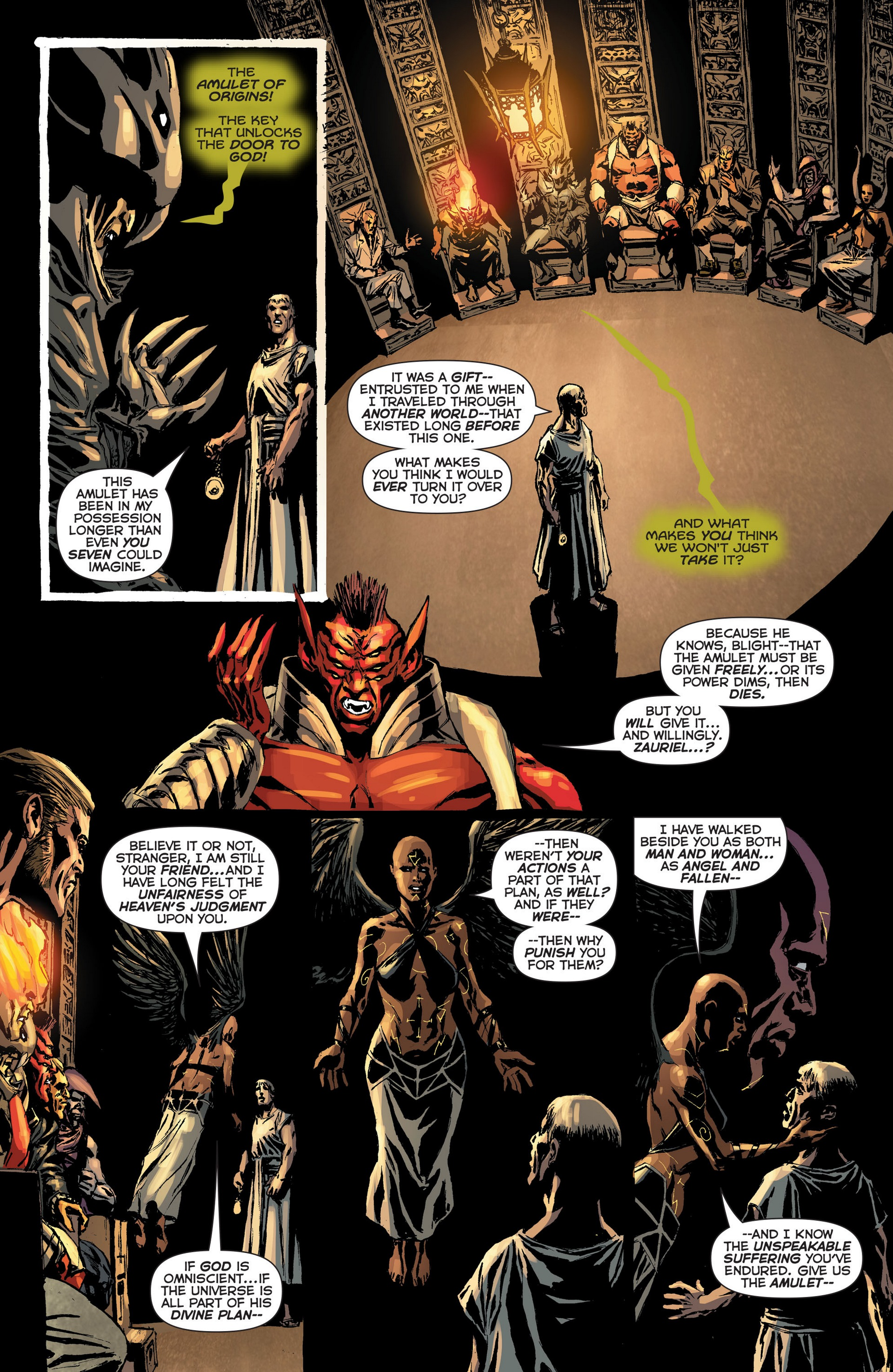 Read online Trinity of Sin: The Phantom Stranger: Futures End comic -  Issue # Full - 13