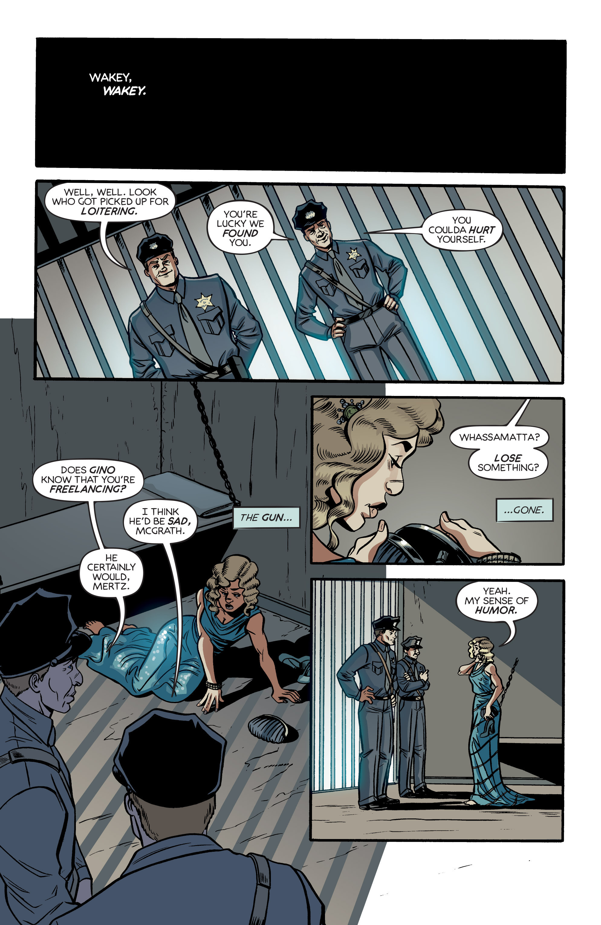 Read online Angel City comic -  Issue #3 - 21