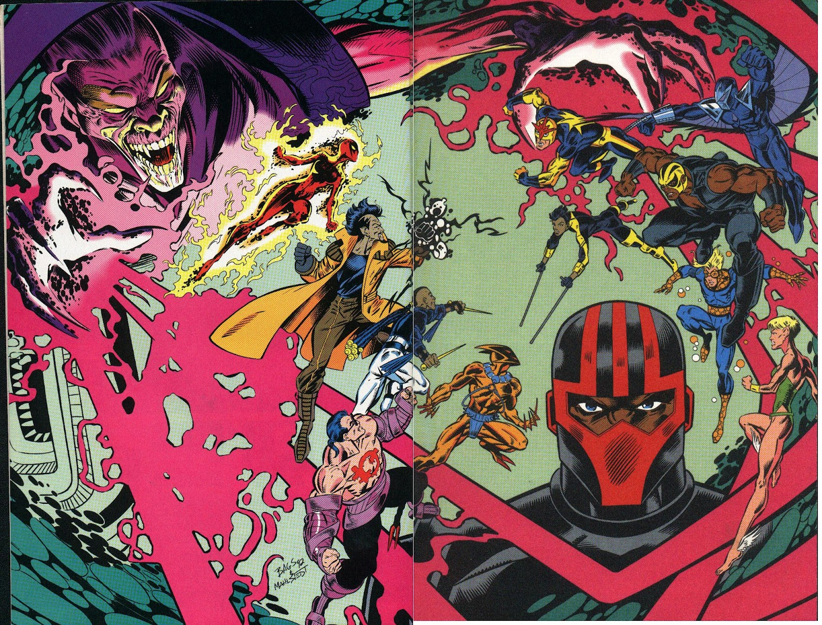 The New Warriors Issue #25 #29 - English 2