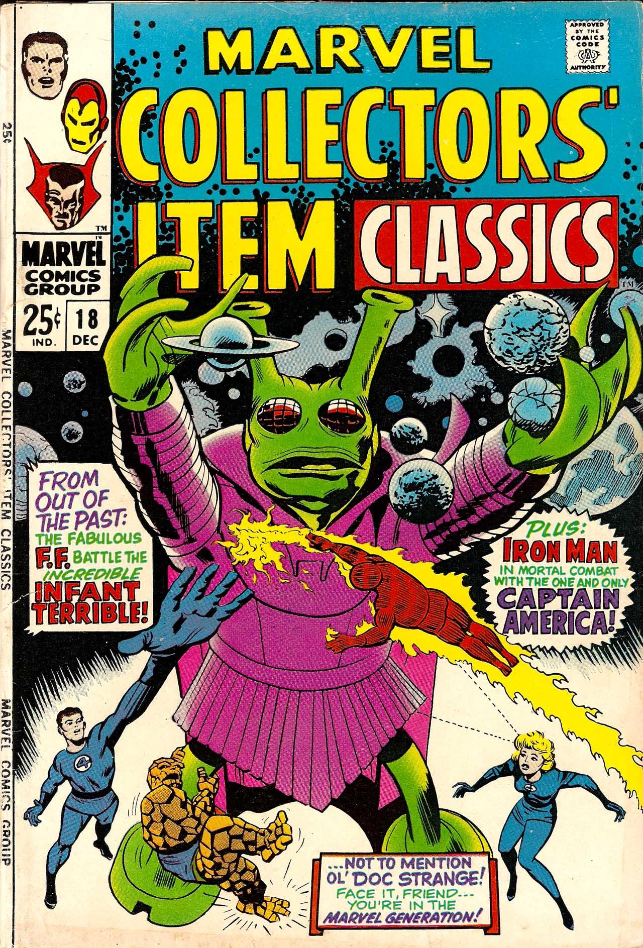 Marvel Collectors Item Classics 18 Page 1