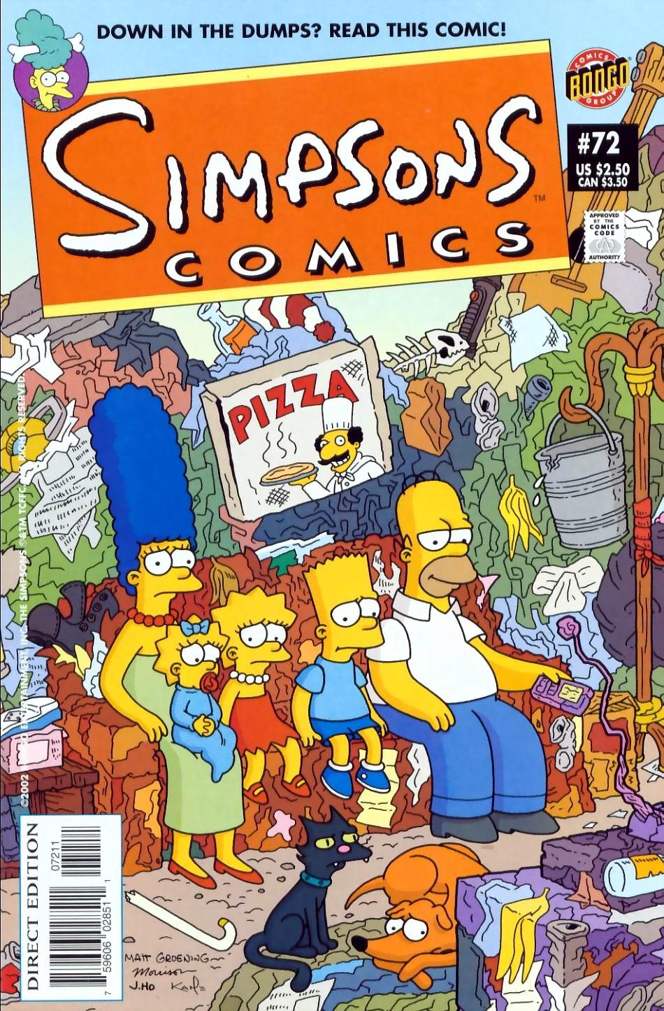 Read online Simpsons Comics comic -  Issue #72 - 1