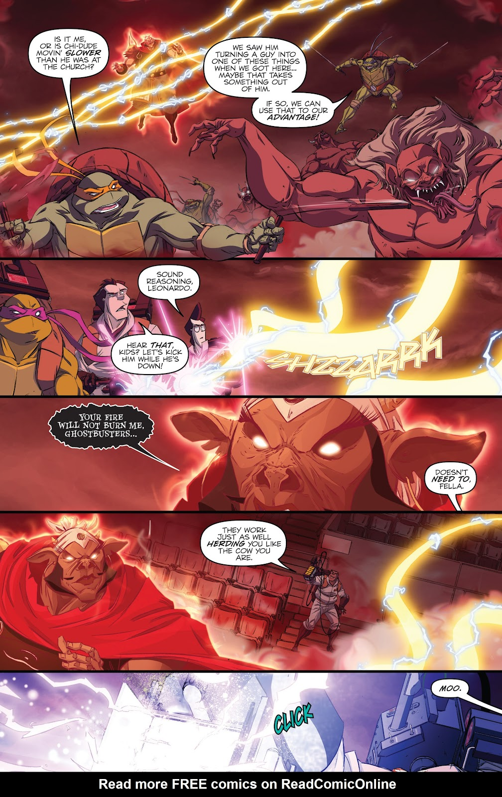 Read online Teenage Mutant Ninja Turtles: The IDW Collection comic -  Issue # TPB 5 (Part 3) - 21