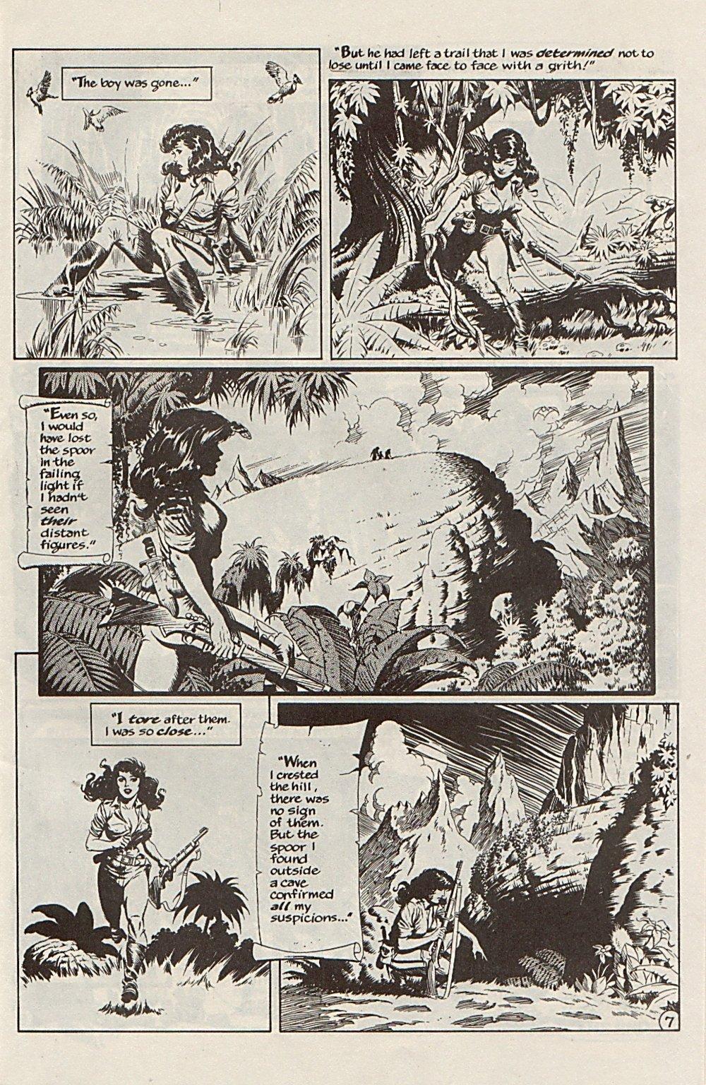 Read online Xenozoic Tales comic -  Issue #6 - 10