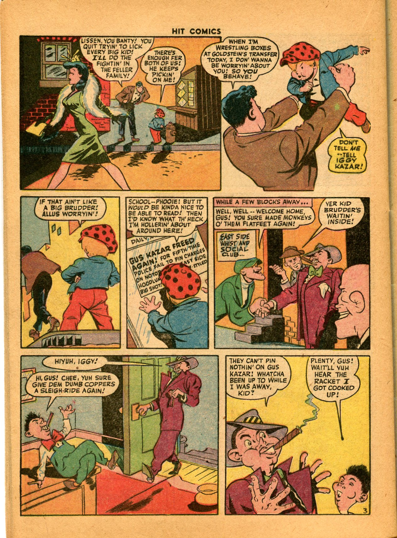 Read online Hit Comics comic -  Issue #35 - 40