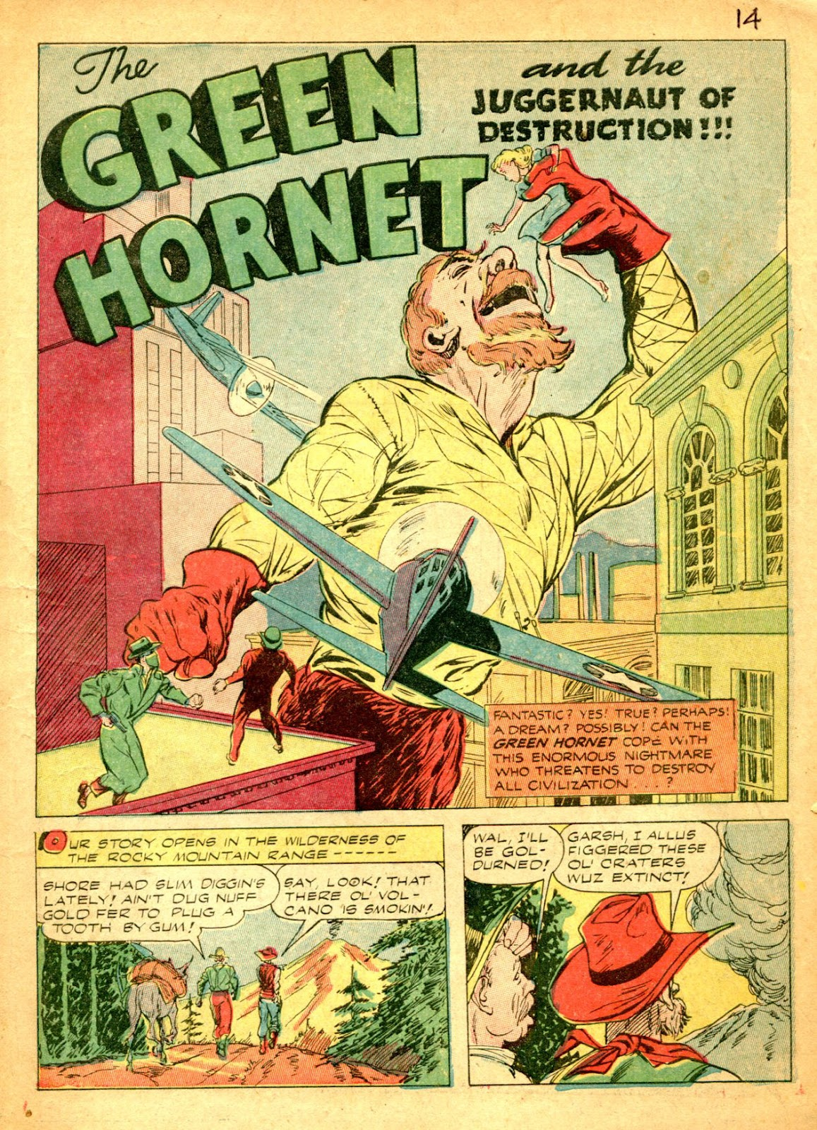Green Hornet Comics issue 14 - Page 2