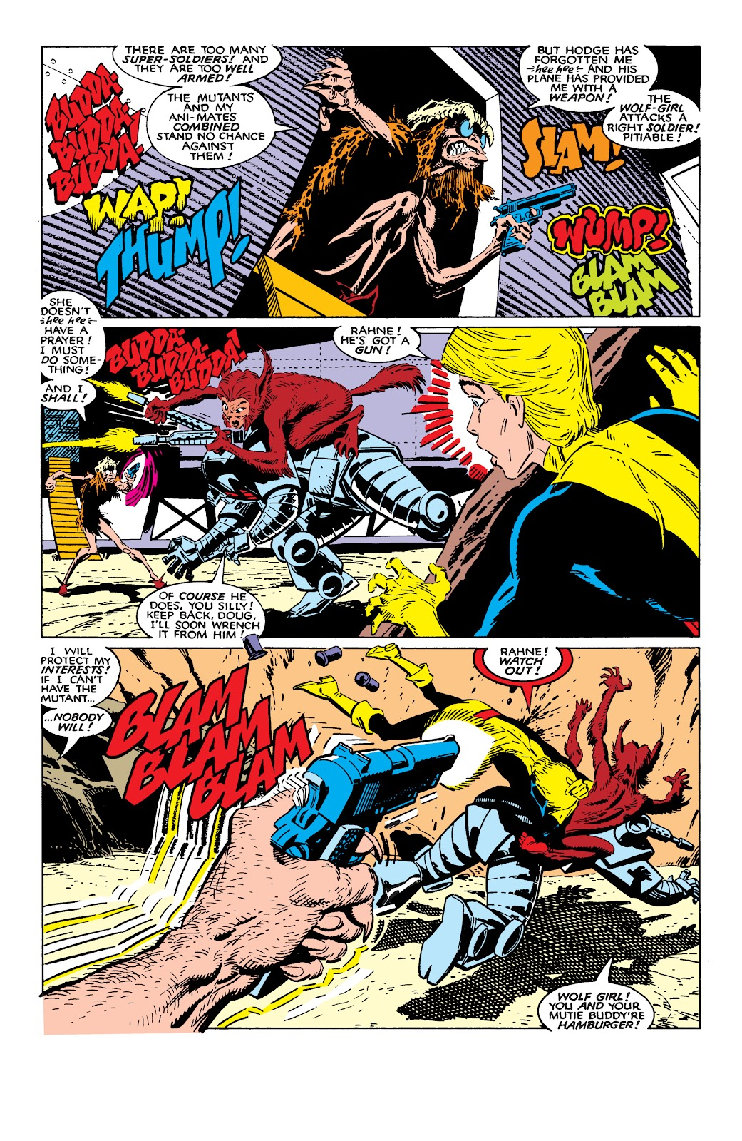 Read online X-Men Milestones: Fall of the Mutants comic -  Issue # TPB (Part 2) - 48