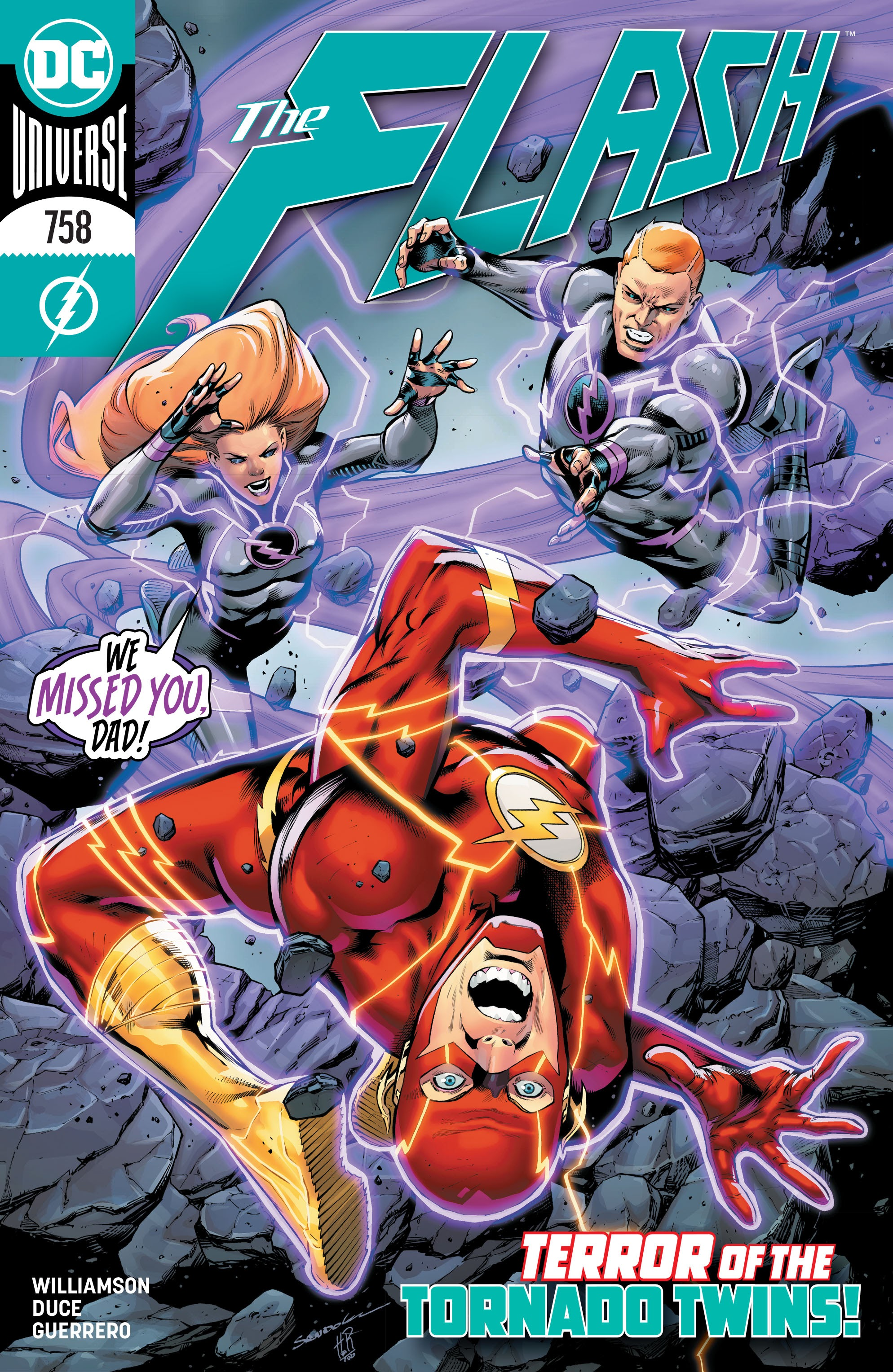 The Flash (2016) 758 Page 1