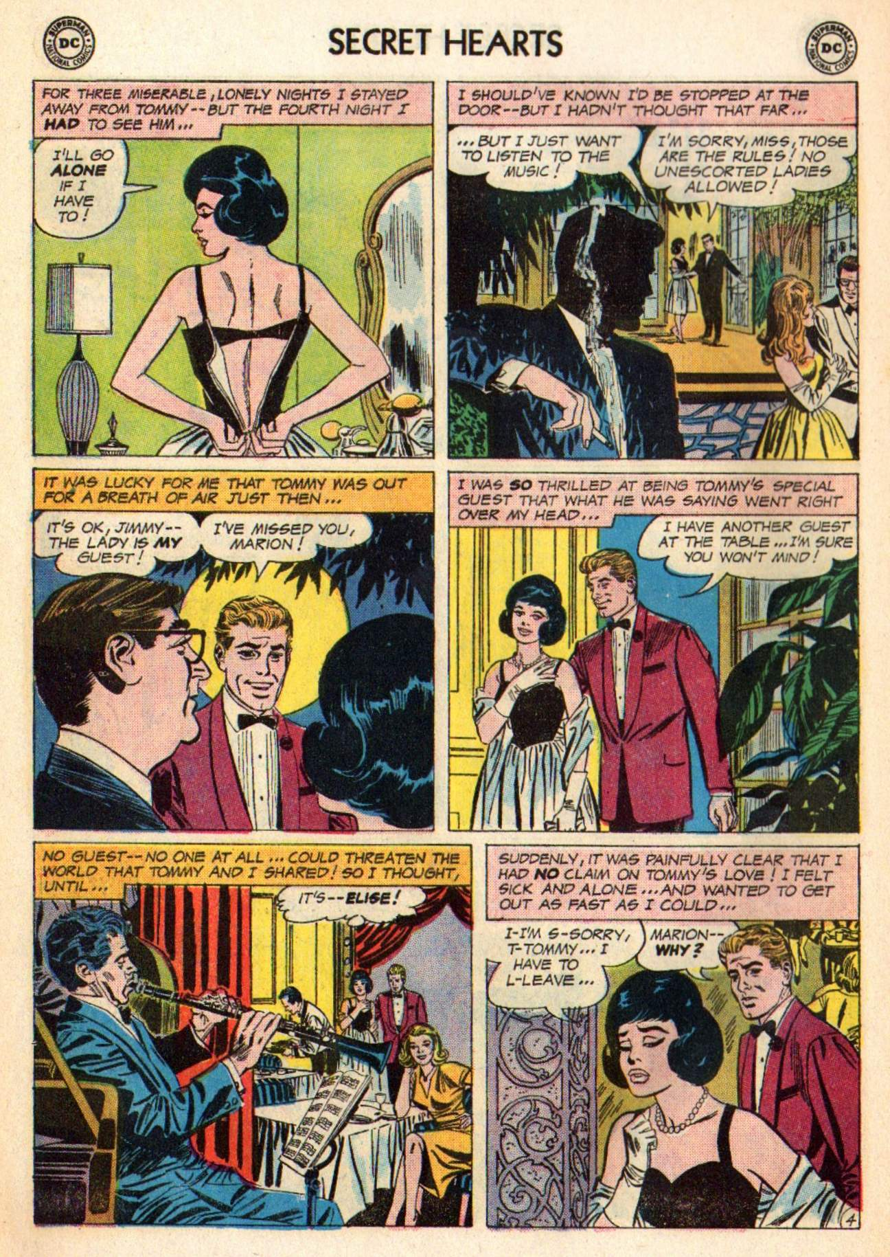 Read online Secret Hearts comic -  Issue #98 - 14