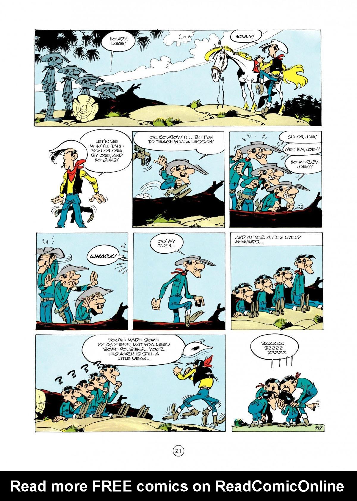 Read online A Lucky Luke Adventure comic -  Issue #28 - 22