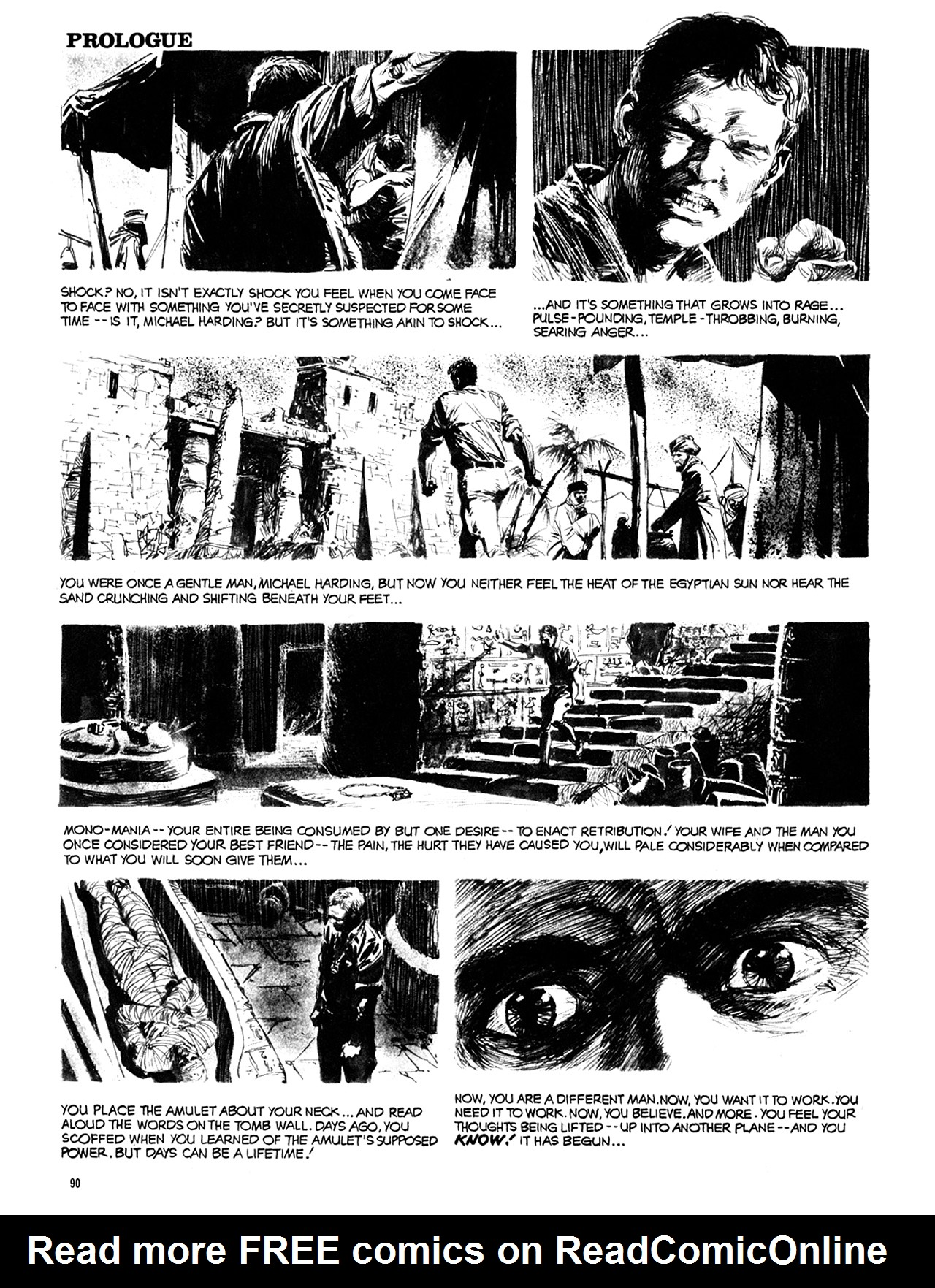 Read online Eerie Archives comic -  Issue # TPB 10 - 91