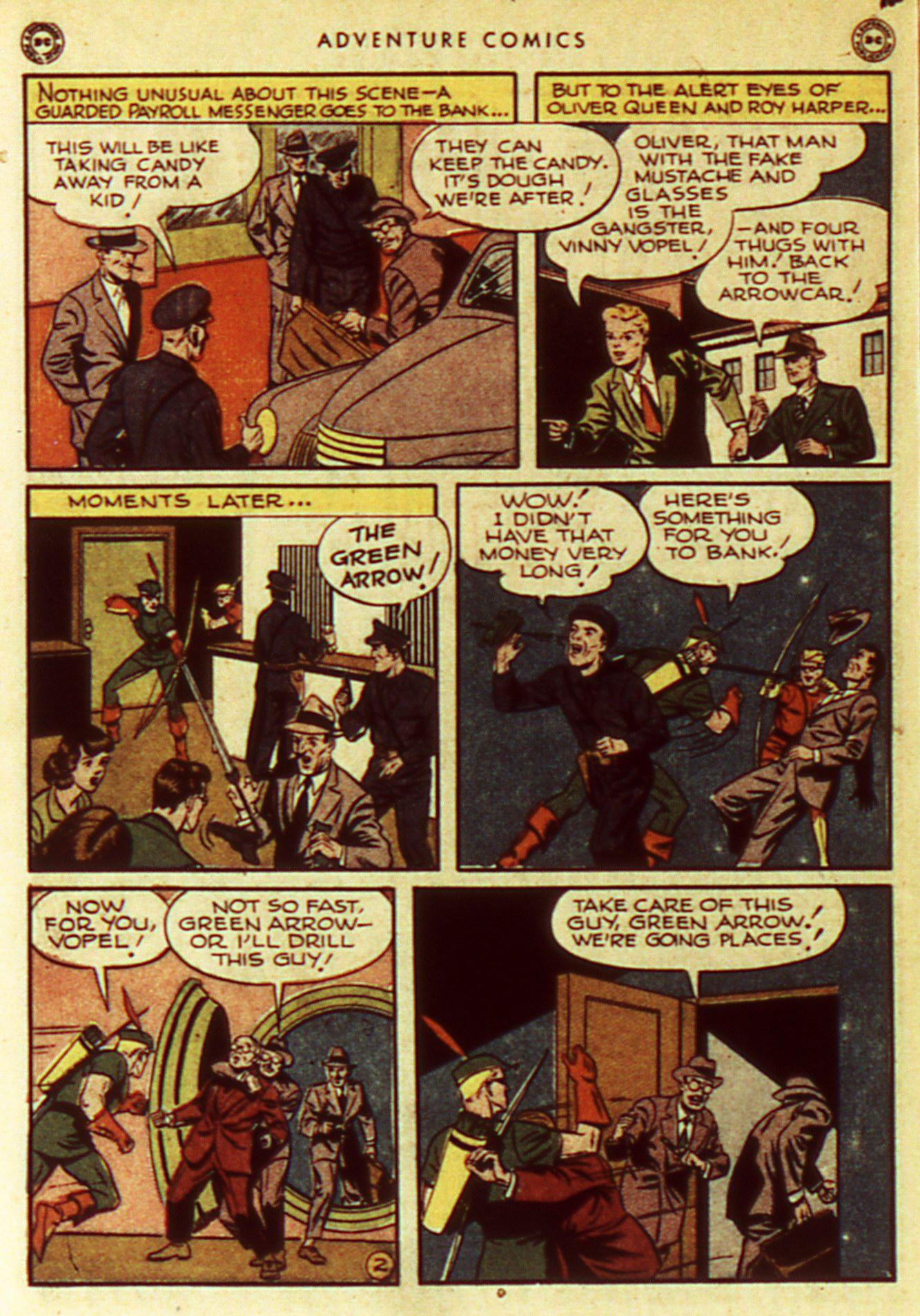 Read online Adventure Comics (1938) comic -  Issue #105 - 12