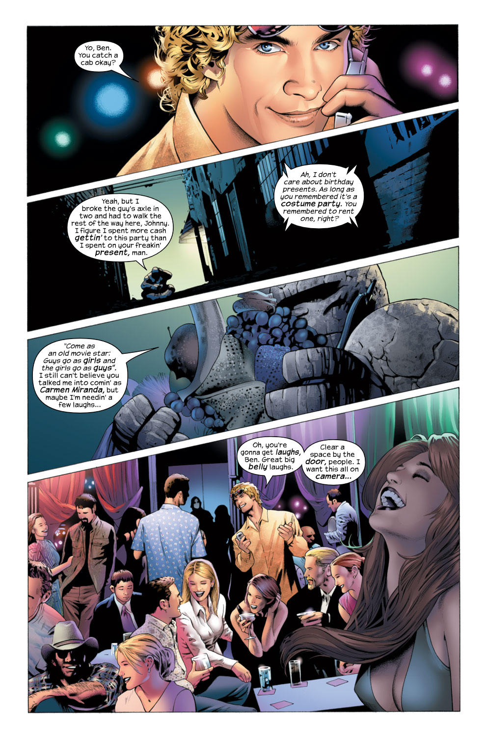 Read online Ultimate Fantastic Four (2004) comic -  Issue #27 - 13