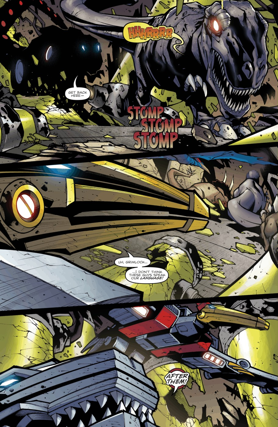 Read online Transformers Prime: Beast Hunters comic -  Issue #4 - 9