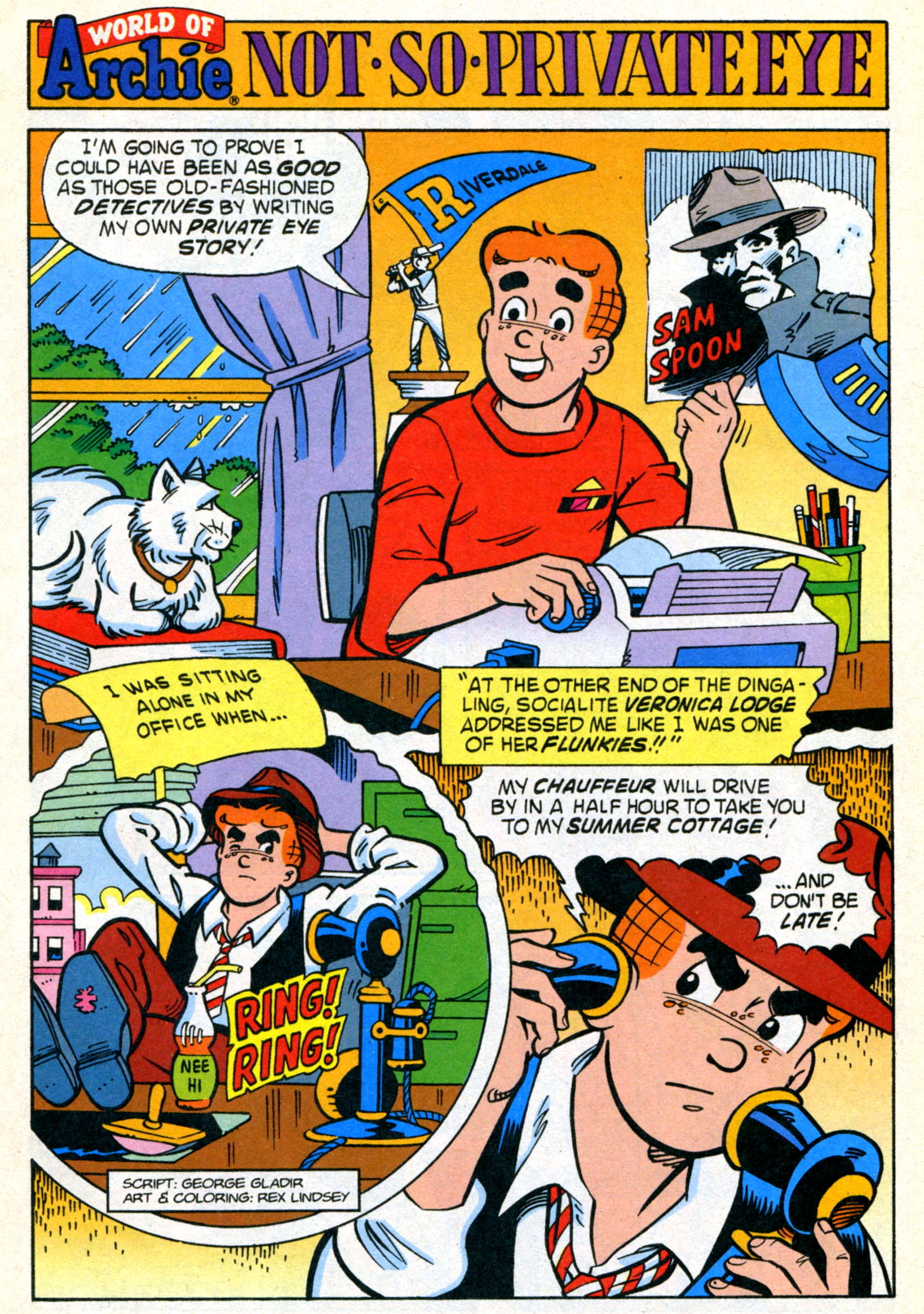 Read online World of Archie comic -  Issue #21 - 19