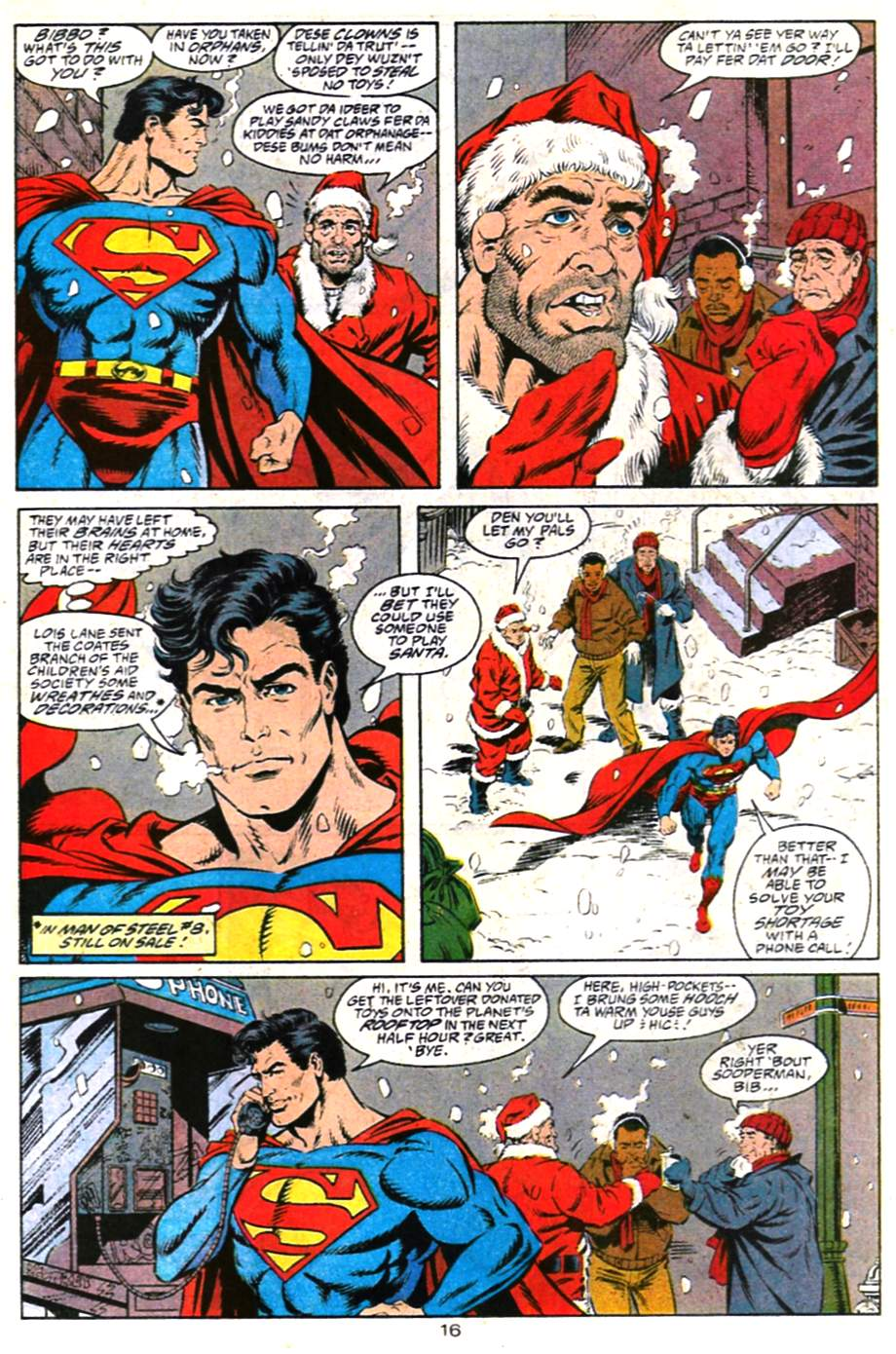 Read online Adventures of Superman (1987) comic -  Issue #487 - 17