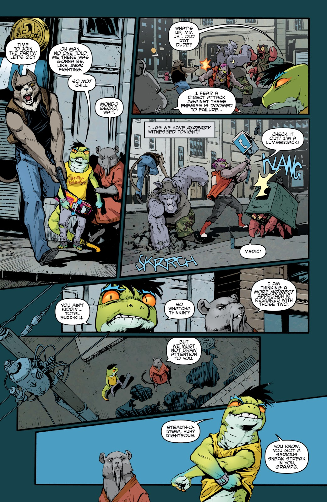 Read online Teenage Mutant Ninja Turtles: The IDW Collection comic -  Issue # TPB 5 (Part 2) - 59
