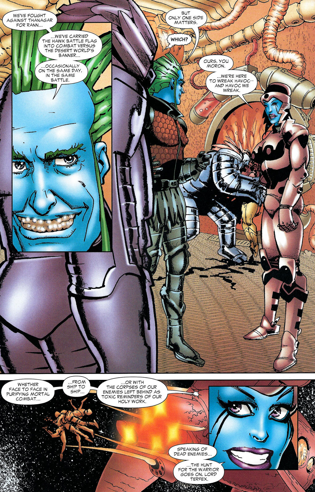 Read online Guy Gardner: Collateral Damage comic -  Issue #1 - 24