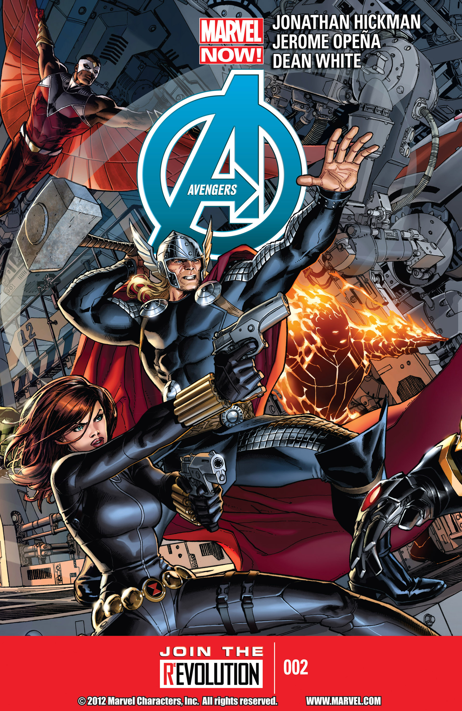 Read online Avengers (2013) comic -  Issue #2 - 1