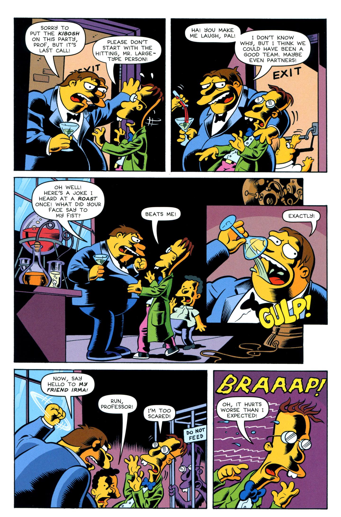 Read online Simpsons One-Shot Wonders: Professor Frink comic -  Issue # Full - 10