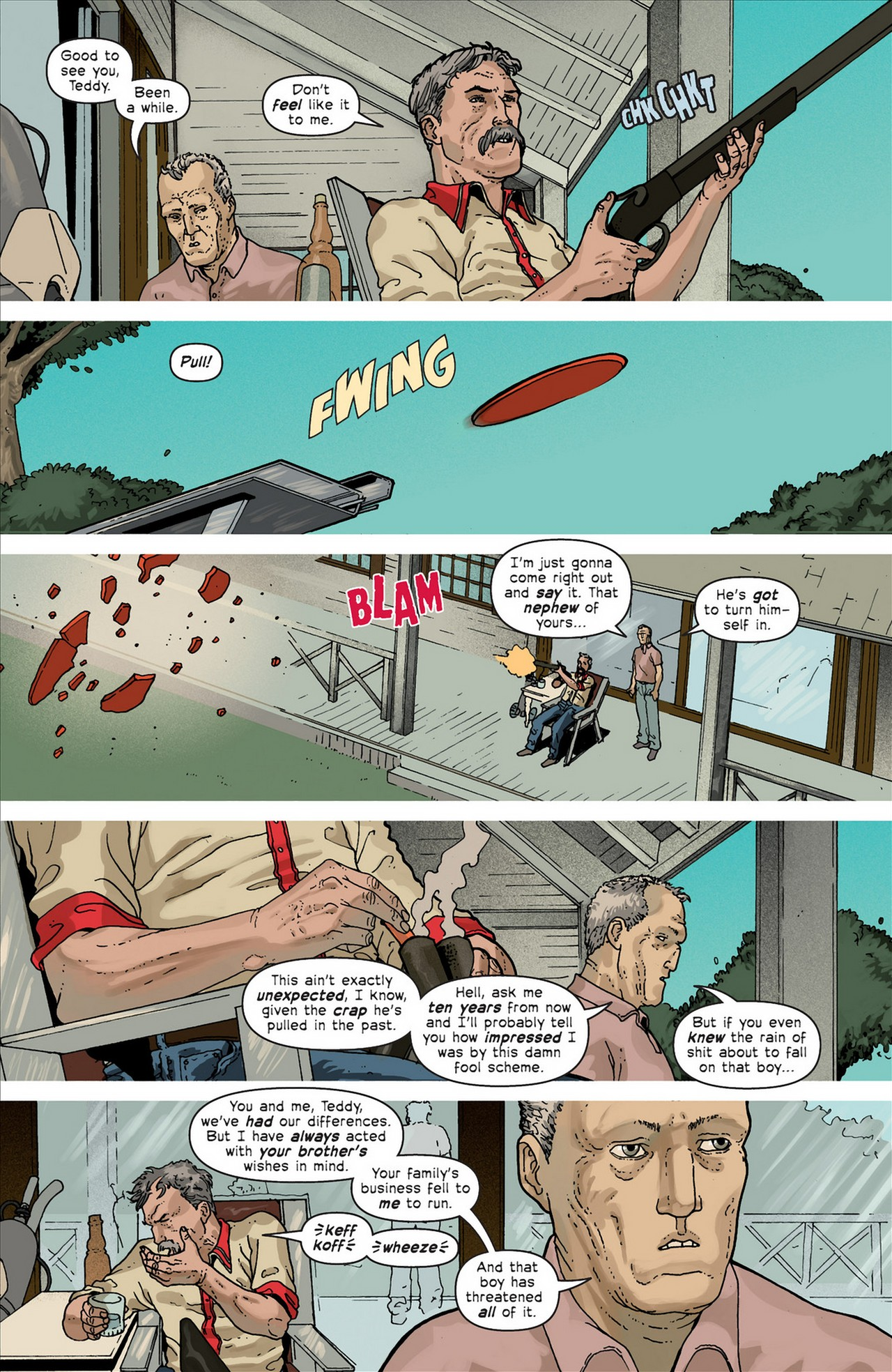 Read online Great Pacific comic -  Issue #4 - 8