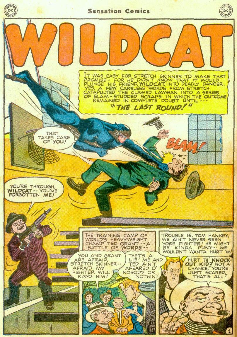 Read online Sensation (Mystery) Comics comic -  Issue #65 - 41