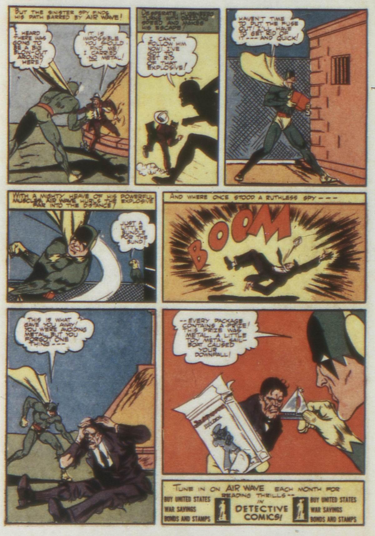 Read online Detective Comics (1937) comic -  Issue #74 - 56