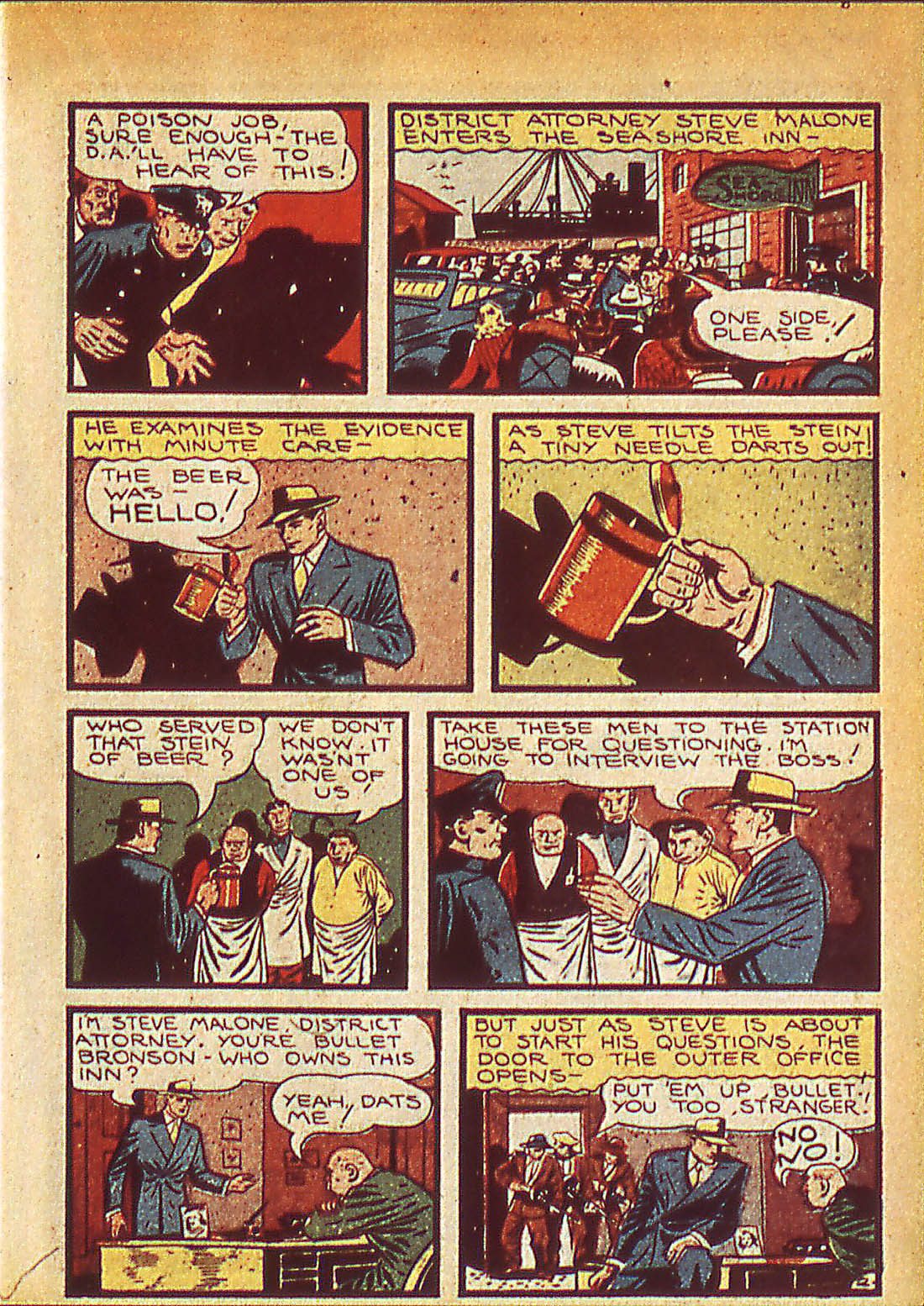 Read online Detective Comics (1937) comic -  Issue #42 - 45