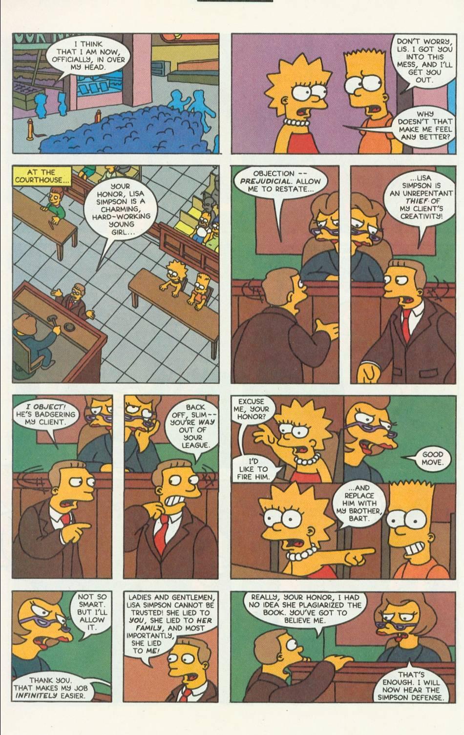 Read online Simpsons Comics comic -  Issue #9 - 19