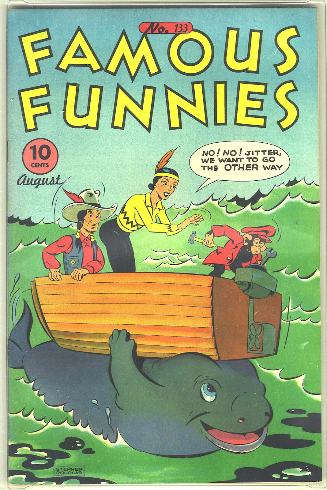 Read online Famous Funnies comic -  Issue #133 - 1
