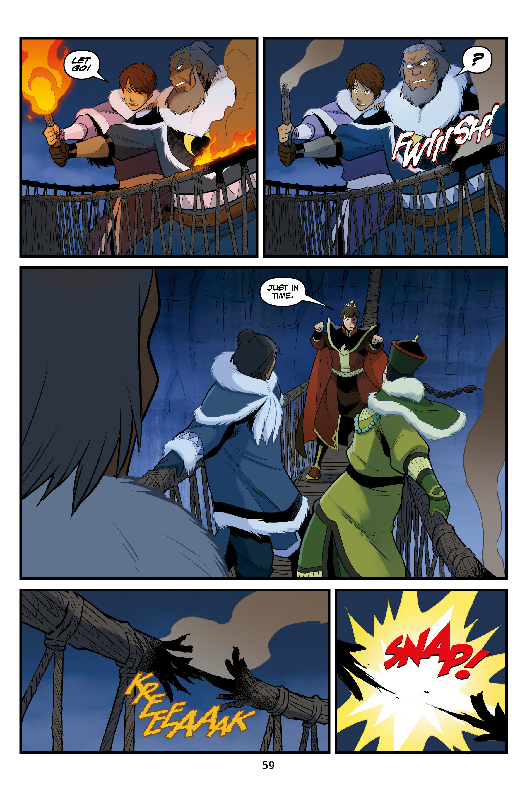 Read online Nickelodeon Avatar: The Last Airbender - North and South comic -  Issue #3 - 59