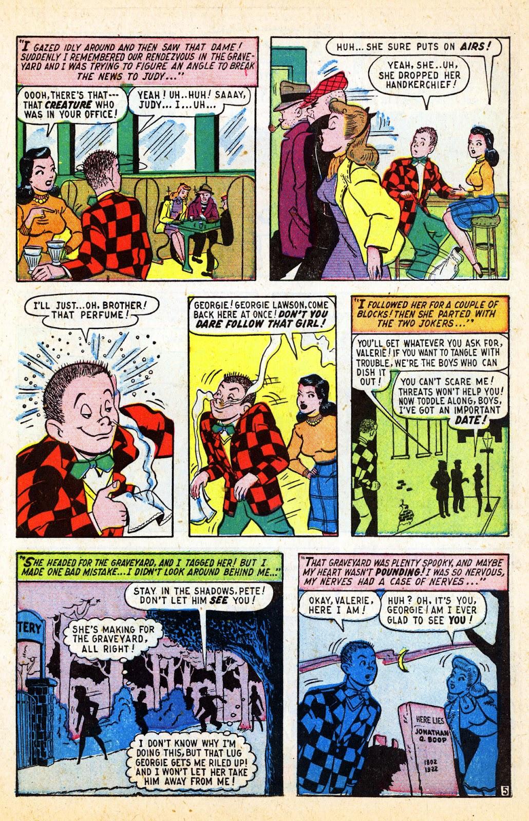 Georgie Comics (1945) issue 17 - Page 7